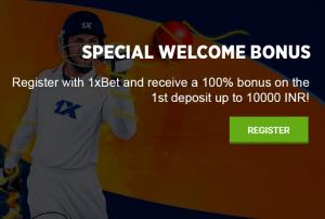 1xbet welcome bonus offer
