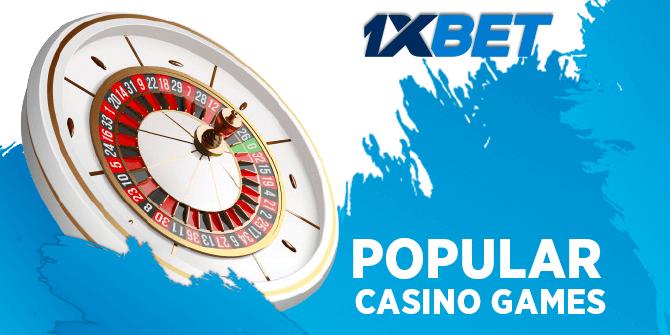 Popular 1xbet Casino Games