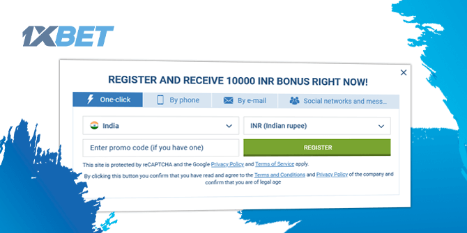How to Undergo 1xbet Casino Registration?