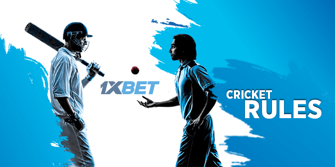 1xbet cricket rules