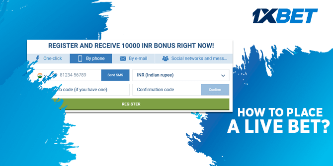 How to Place a Live Bet?
