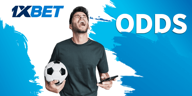 Odds for live betting at 1xBet