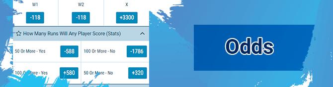 1xbet odds