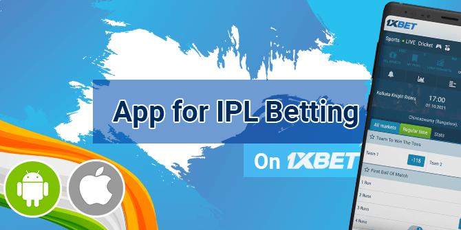 1xbet app for IPL betting