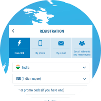 register at 1xbet
